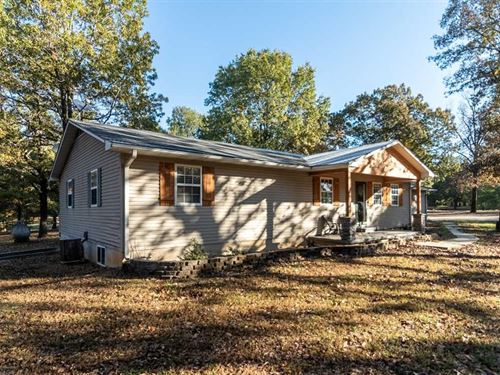 Home on 3.79 Acres For Sale in Pop : Poplar Bluff : Butler County : Missouri