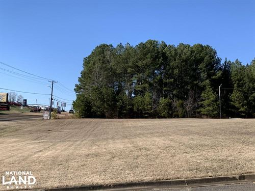 One Acre Commercial Lot : Lexington : Henderson County : Tennessee