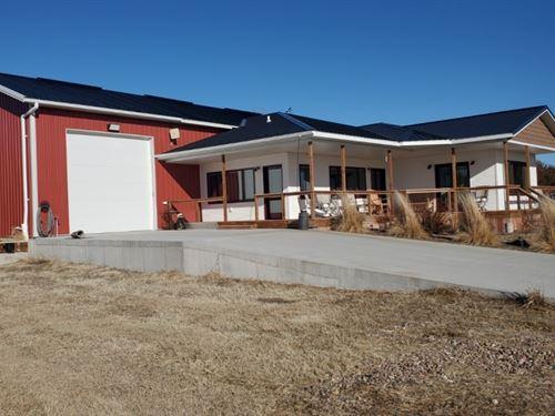 Wallace NE Barndominium : Wallace : Lincoln County : Nebraska