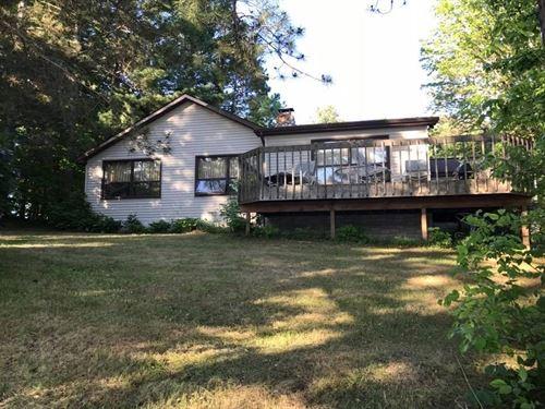 Lakefront Home Acreage, Moose Lake : Moose Lake : Carlton County : Minnesota