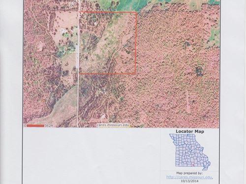 40 Acres Close To West Plains, MO : West Plains : Howell County : Missouri