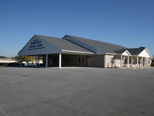 Mitchell Commercial : Greenville : Pitt County : North Carolina