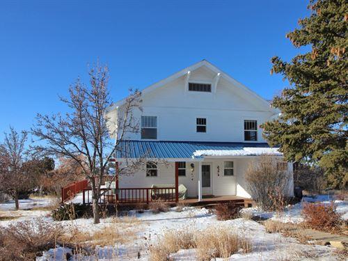 Historic Country Home 4 Acres : Dolores : Montezuma County : Colorado