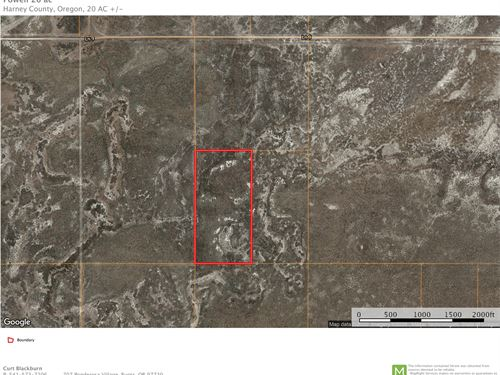 20 Acres East Of Burns Oregon : Burns : Harney County : Oregon