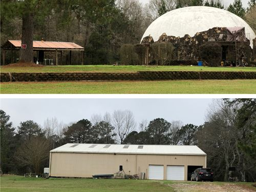 Beautiful Secluded Land and Home : Woodville : Wilkinson County : Mississippi