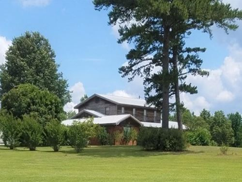 8 Acres With A Home In Attala Count : Sallis : Attala County : Mississippi