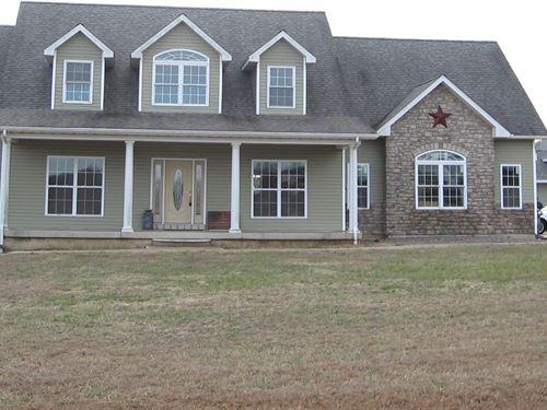 Custom Built 4-Br, 3-Ba Country : Fredericktown : Madison County : Missouri