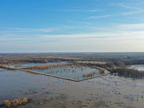 Missouri Duck Hunting Property : Rockville : Bates County : Missouri