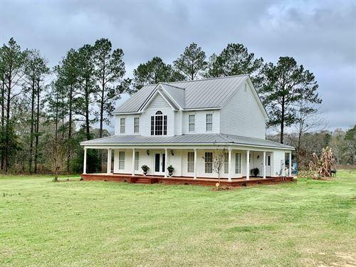 Home & 2 Acres, Hartford Alabama : Hartford : Geneva County : Alabama