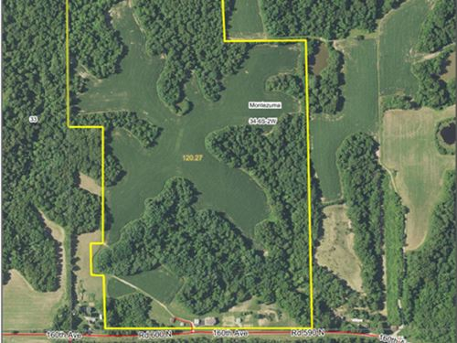 Incoming Producing Farm With Home : Pearl : Pike County : Illinois