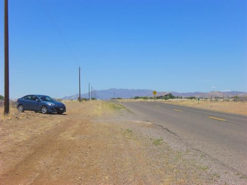 Nice, Paved Road, Power, $75/Month : Douglas : Cochise County : Arizona