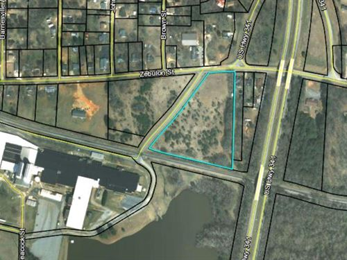 5.91 Acres Multi-Family Land : Barnesville : Lamar County : Georgia