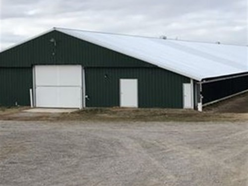 Saarinen Poultry Farm : Phil Campbell : Franklin County : Alabama
