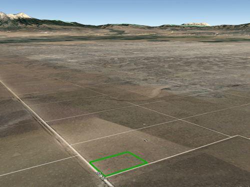 Sanluis Valley Lot With Electricity : Blanca : Costilla County : Colorado