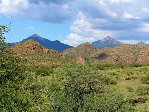 Jasper Springs Ranch : Tubac : Santa Cruz County : Arizona