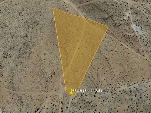 Rare Elevated Lot in Kern, CA : California City : Kern County : California