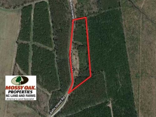 10.04 Acres of Residential Land Fo : Edenton : Chowan County : North Carolina