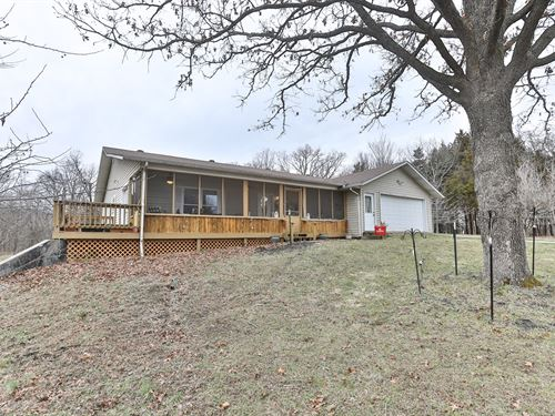 Beautiful Custom Built Home 5 Acres : Arcola : Dade County : Missouri