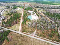 20 Acres With Beautiful Pond : Callahan : Nassau County : Florida
