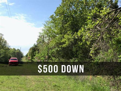 $500 Down on 6 Acres With Power : Ava : Douglas County : Missouri