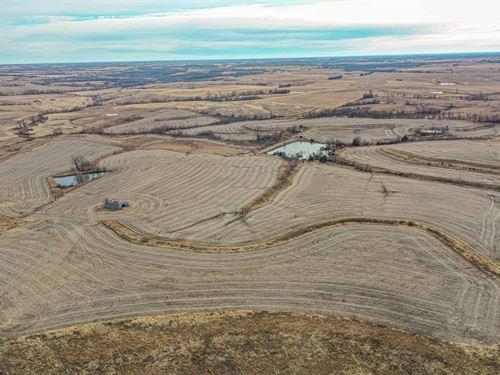 Row Crop & Crp Farm Northwest : Martinsville : Harrison County : Missouri