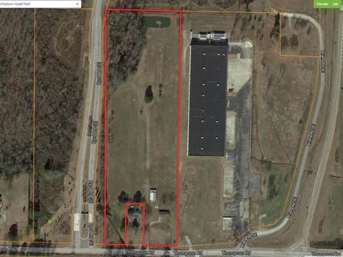 Commercial Property Hartselle : Hartselle : Morgan County : Alabama