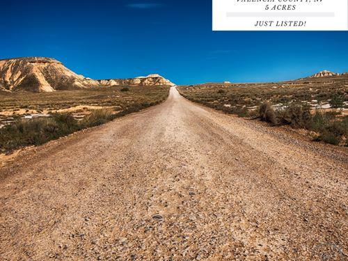 5 Acres Near Highland Meadows, NM : Laguna : Valencia County : New Mexico
