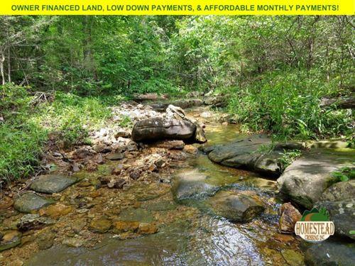 Fantastic Property Year-Round Creek : Drury : Douglas County : Missouri
