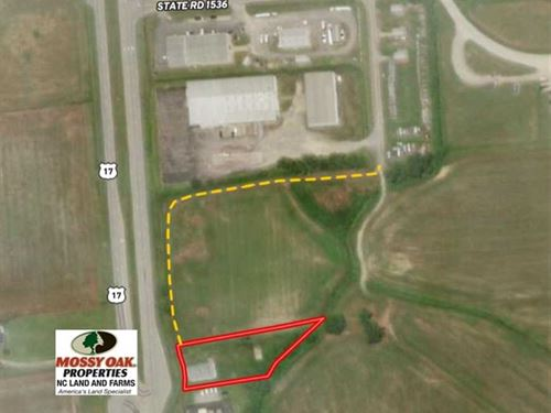 1 Acre of Commercial Land For Sale : Washington : Beaufort County : North Carolina