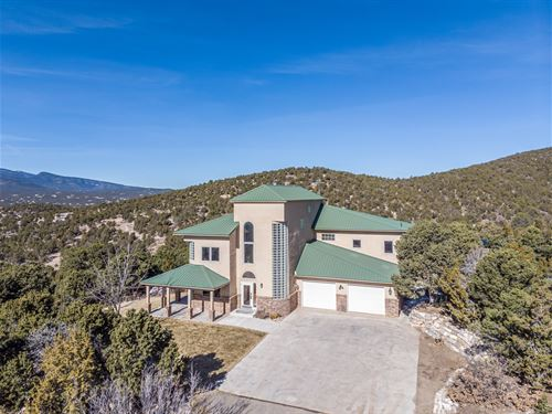 New Mexico Mountain Home 4.68 Acres : Sandia Park : Bernalillo County : New Mexico
