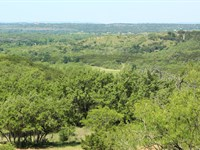 Texas Hunting & Recreational Ranch : Marble Falls : Burnet County : Texas