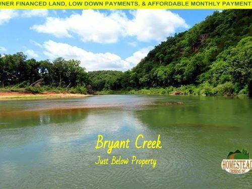 Great Property Near Bryant Creek : Dora : Ozark County : Missouri