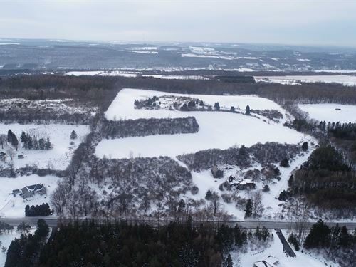 Large Acreage Mixture of Land : Pompey : Onondaga County : New York