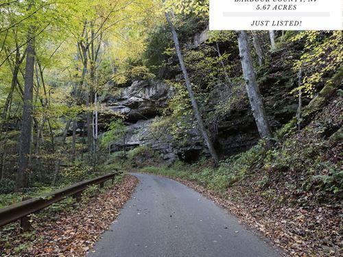 5.67 Acres In Barbour County, WV : Volga : Barbour County : West Virginia