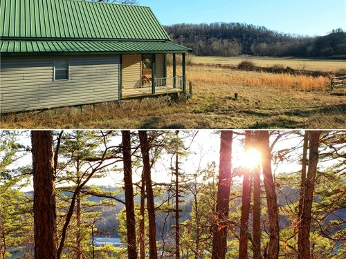 Hunting Camp For Sale in The Ozarks : Ava : Douglas County : Missouri
