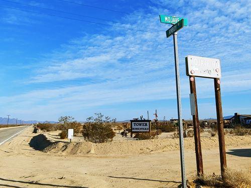 Power, Access, Great Views, $299/Mo : Twentynine Palms : San Bernardino County : California