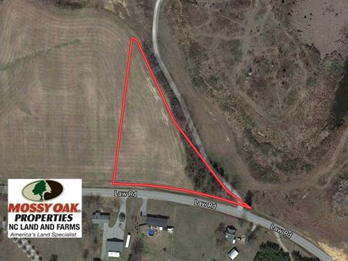 2.45 Acres of Residential Land : Pelham : Caswell County : North Carolina