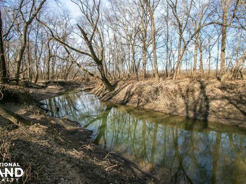 Secluded Build Site & Acreage in Eu : Eudora : Douglas County : Kansas