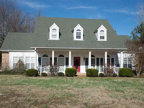 Bolivar TN Country Home, Acreage : Bolivar : Hardeman County : Tennessee