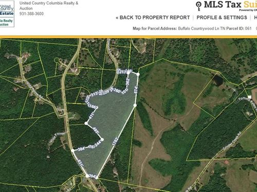 Acreage Rural Hohenwald, Lewis : Hohenwald : Lewis County : Tennessee