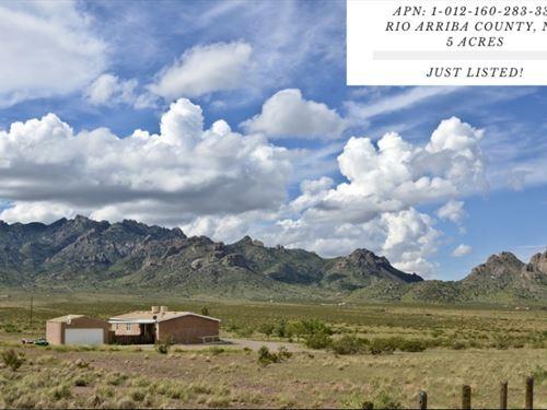 5 Acres In Rio Arriba County : La Jara : Rio Arriba County : New Mexico