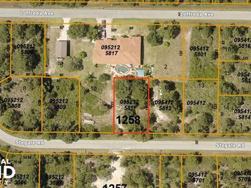 Gorgeous Lot in North Port : North Port : Sarasota County : Florida
