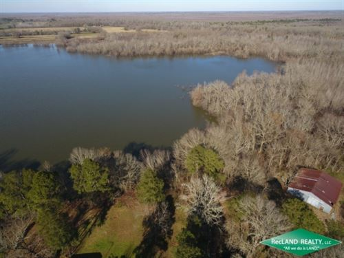 45.7 Ac, Home Site With Lake : Harrisonburg : Catahoula Parish : Louisiana