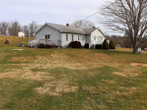Ranch Style Country Home Auction : Willis : Floyd County : Virginia