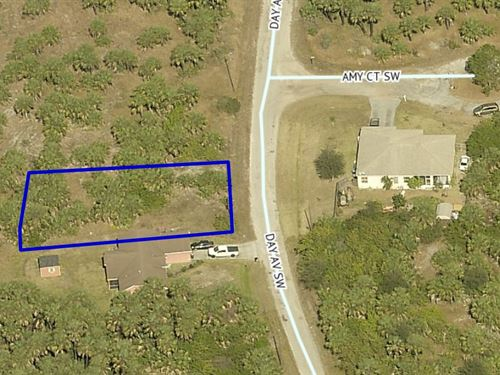 Palm Bay Lot in Beautiful Brevard : Palm Bay : Brevard County : Florida