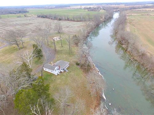 220 Acres of Riverfront Property : Remington : Culpeper County : Virginia