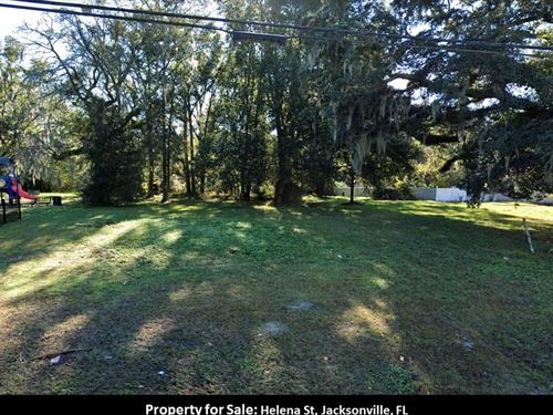 2 Acres Perfect Infill in Duval 42 : Jacksonville : Duval County : Florida