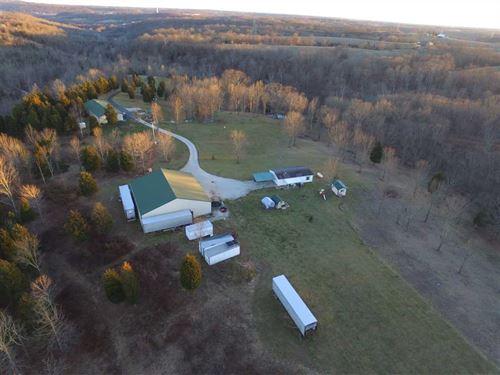 Land For Sale 52.09 Acres Near Aur : Aurora : Dearborn County : Indiana