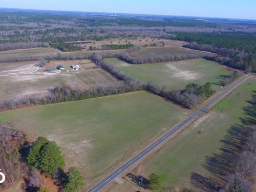Laurinburg Hunting And Farm Land : Laurinburg : Scotland County : North Carolina
