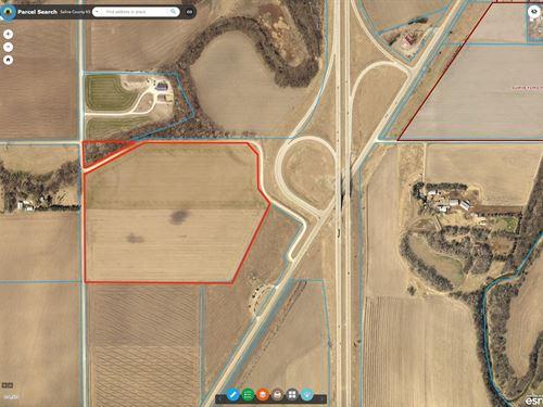 48.1 Acres Farmland Southern Saline : Lindsborg : Saline County : Kansas